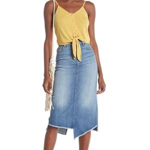 NWT 7 For All Mankind Jean Skirt